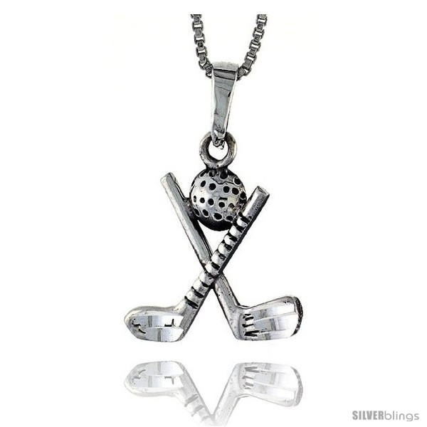 https://www.silverblings.com/75146-thickbox_default/sterling-silver-golf-club-ball-pendant-1-1-16-in-style-pa641.jpg
