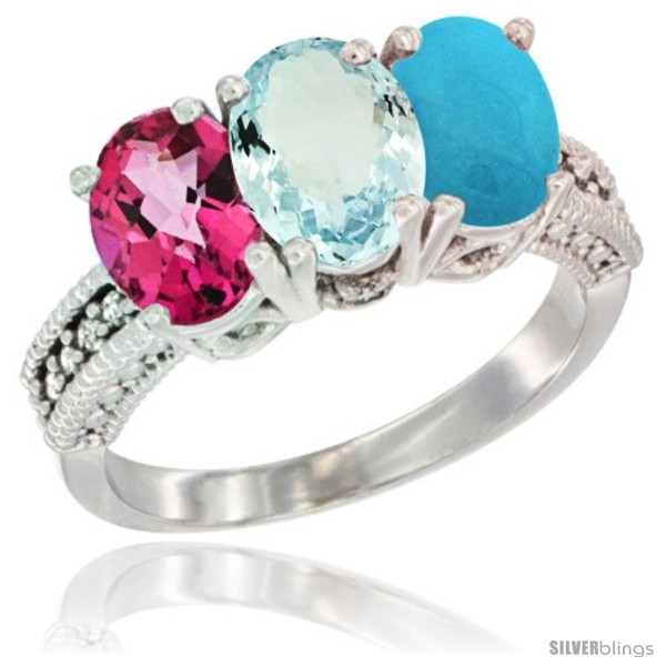 https://www.silverblings.com/75273-thickbox_default/10k-white-gold-natural-pink-topaz-aquamarine-turquoise-ring-3-stone-oval-7x5-mm-diamond-accent.jpg