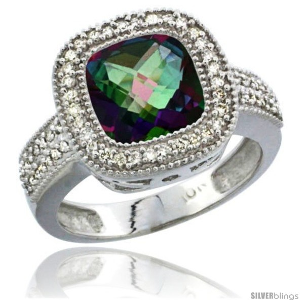 https://www.silverblings.com/75667-thickbox_default/14k-white-gold-ladies-natural-mystic-topaz-ring-diamond-accent-cushion-cut-4-ct-8x8-stone-diamond-accent.jpg