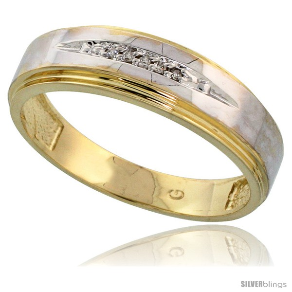https://www.silverblings.com/76034-thickbox_default/gold-plated-sterling-silver-mens-diamond-wedding-band-1-4-in-wide-style-agy113mb.jpg