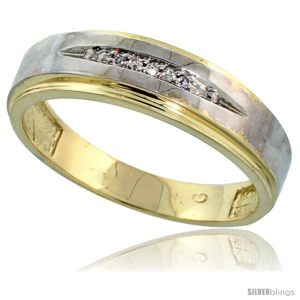 https://www.silverblings.com/76058-thickbox_default/gold-plated-sterling-silver-mens-diamond-wedding-band-3-16-in-wide-style-agy114mb.jpg