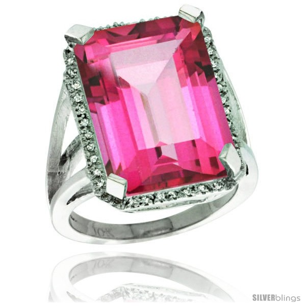 https://www.silverblings.com/76134-thickbox_default/10k-white-gold-diamond-pink-topaz-ring-14-96-ct-emerald-shape-18x13-mm-stone-13-16-in-wide.jpg