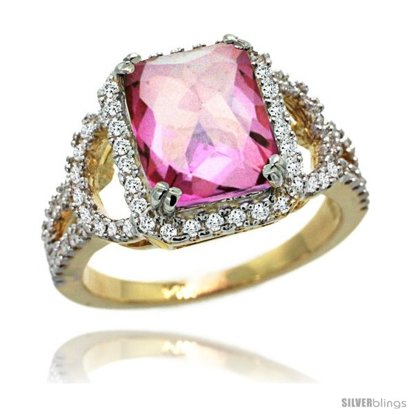 https://www.silverblings.com/76182-thickbox_default/14k-gold-natural-pink-topaz-ring-10x8-mm-emerald-shape-diamond-halo-1-2inch-wide.jpg