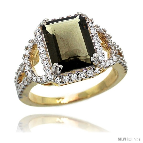 https://www.silverblings.com/76186-thickbox_default/14k-gold-natural-smoky-topaz-ring-10x8-mm-emerald-shape-diamond-halo-1-2inch-wide.jpg