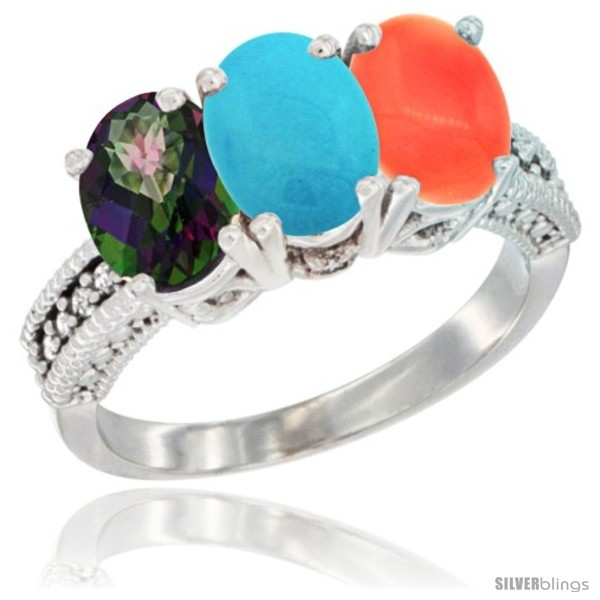 https://www.silverblings.com/76198-thickbox_default/14k-white-gold-natural-mystic-topaz-turquoise-coral-ring-3-stone-7x5-mm-oval-diamond-accent.jpg