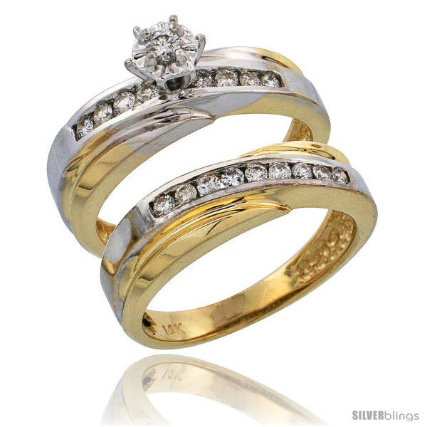 https://www.silverblings.com/7624-thickbox_default/14k-gold-2-piece-diamond-engagement-ring-set-w-rhodium-accent-w-0-36-carat-brilliant-cut-diamonds-3-16-in-5mm-wide.jpg