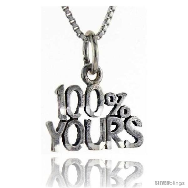 https://www.silverblings.com/76255-thickbox_default/sterling-silver-100-percent-yours-talking-pendant-1-in-wide.jpg