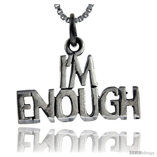 https://www.silverblings.com/76260-thickbox_default/sterling-silver-im-enough-talking-pendant-1-in-wide.jpg