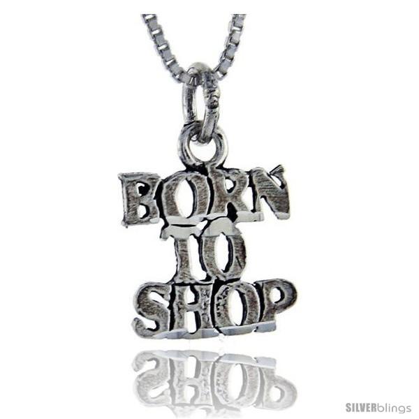 https://www.silverblings.com/76268-thickbox_default/sterling-silver-born-to-shop-talking-pendant-1-in-wide.jpg