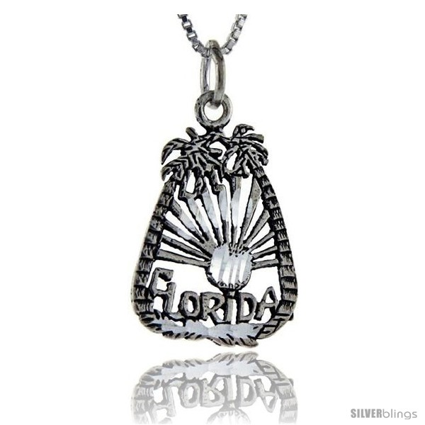 https://www.silverblings.com/76307-thickbox_default/sterling-silver-florida-talking-pendant-1-in-wide-style-pa880.jpg