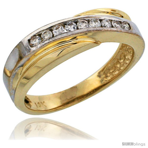 https://www.silverblings.com/7640-thickbox_default/14k-gold-ladies-diamond-band-w-rhodium-accent-w-0-16-carat-brilliant-cut-diamonds-3-16-in-5mm-wide.jpg