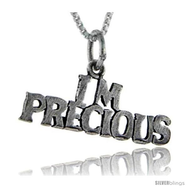 https://www.silverblings.com/76480-thickbox_default/sterling-silver-im-precious-talking-pendant-1-in-wide.jpg