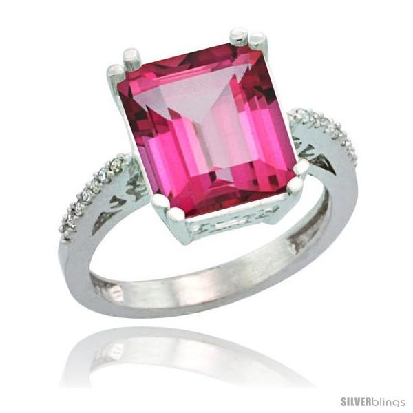 https://www.silverblings.com/76588-thickbox_default/10k-white-gold-diamond-pink-topaz-ring-5-83-ct-emerald-shape-12x10-stone-1-2-in-wide.jpg