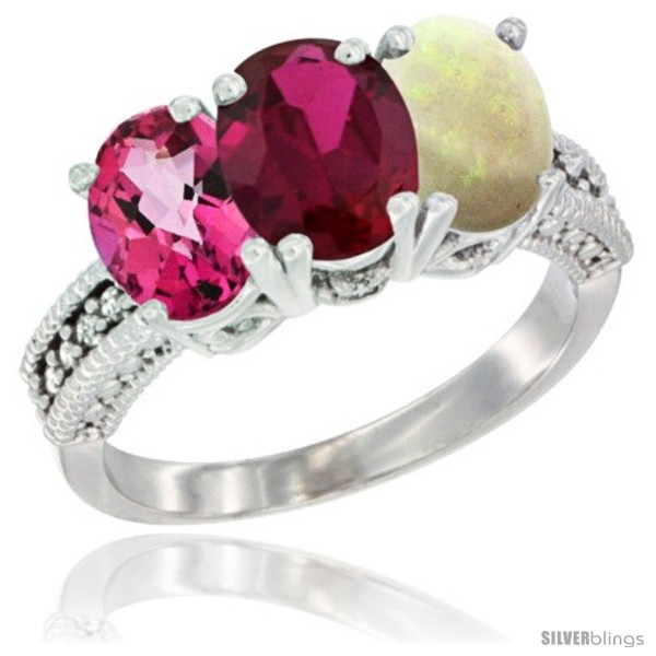 https://www.silverblings.com/76608-thickbox_default/10k-white-gold-natural-pink-topaz-ruby-opal-ring-3-stone-oval-7x5-mm-diamond-accent.jpg