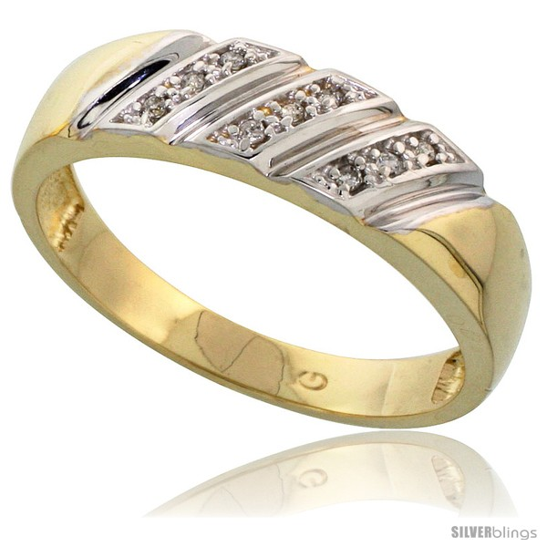 https://www.silverblings.com/76792-thickbox_default/gold-plated-sterling-silver-mens-diamond-wedding-band-1-4-in-wide-style-agy116mb.jpg