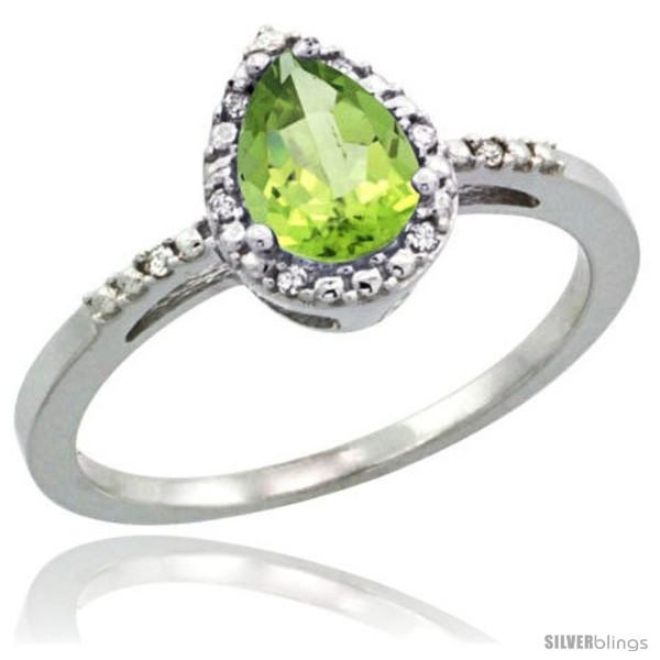 https://www.silverblings.com/76820-thickbox_default/10k-white-gold-diamond-peridot-ring-0-59-ct-tear-drop-7x5-stone-3-8-in-wide.jpg