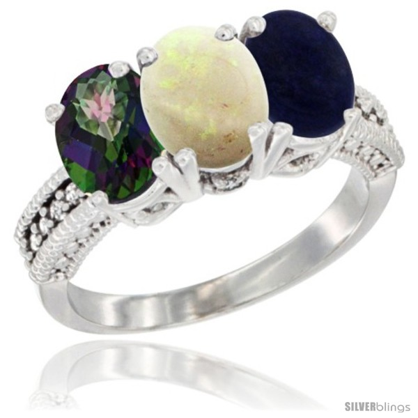 https://www.silverblings.com/76832-thickbox_default/14k-white-gold-natural-mystic-topaz-opal-lapis-ring-3-stone-7x5-mm-oval-diamond-accent.jpg