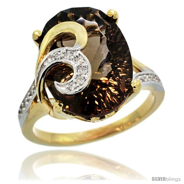 https://www.silverblings.com/76858-thickbox_default/14k-gold-natural-smoky-topaz-ring-16x12-mm-oval-shape-diamond-accent-5-8-in-wide.jpg