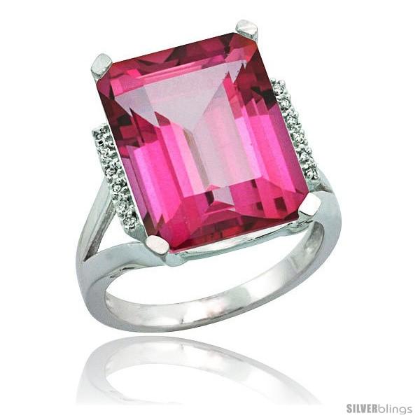 https://www.silverblings.com/76902-thickbox_default/10k-white-gold-diamond-pink-topaz-ring-12-ct-emerald-cut-16x12-stone-3-4-in-wide.jpg