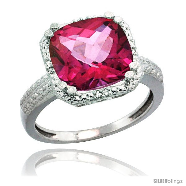 https://www.silverblings.com/76920-thickbox_default/10k-white-gold-diamond-pink-topaz-ring-5-94-ct-checkerboard-cushion-11-mm-stone-1-2-in-wide.jpg