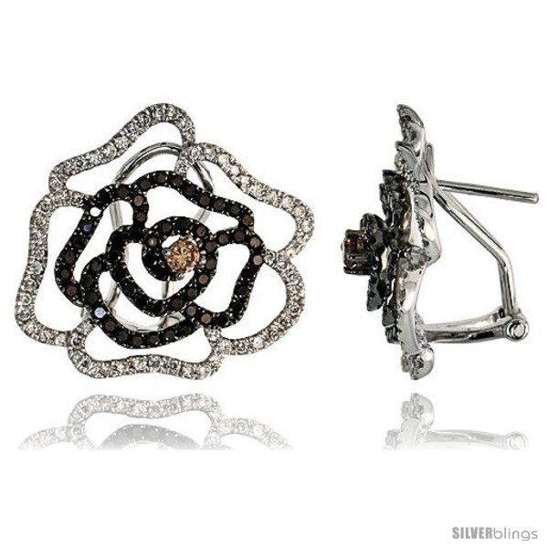 https://www.silverblings.com/77110-thickbox_default/14k-white-gold-large-flower-french-clip-earrings-w-1-72-carats-brilliant-cut-white-black-diamonds-13-16-21mm-tall.jpg