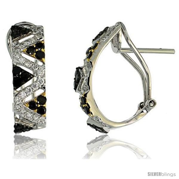 https://www.silverblings.com/77122-thickbox_default/14k-white-gold-triangular-pattern-french-clip-earrings-w-1-00-carat-brilliant-cut-white-black-diamonds-3-4-19mm-tall.jpg
