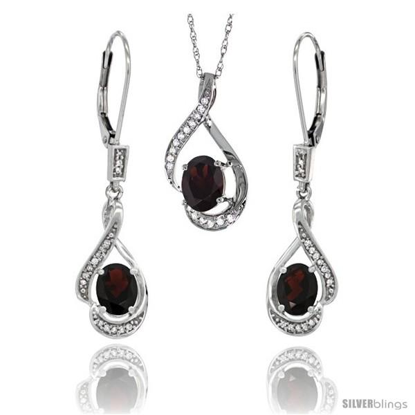 https://www.silverblings.com/77182-thickbox_default/14k-white-gold-natural-garnet-lever-back-earrings-pendant-set-diamond-accent.jpg