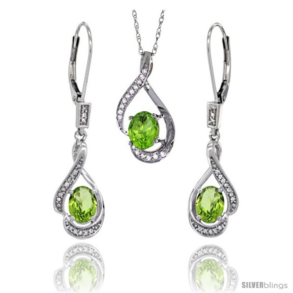 https://www.silverblings.com/77186-thickbox_default/14k-white-gold-natural-peridot-lever-back-earrings-pendant-set-diamond-accent.jpg