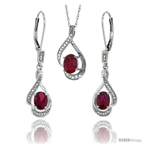 https://www.silverblings.com/77194-thickbox_default/14k-white-gold-natural-ruby-lever-back-earrings-pendant-set-diamond-accent.jpg