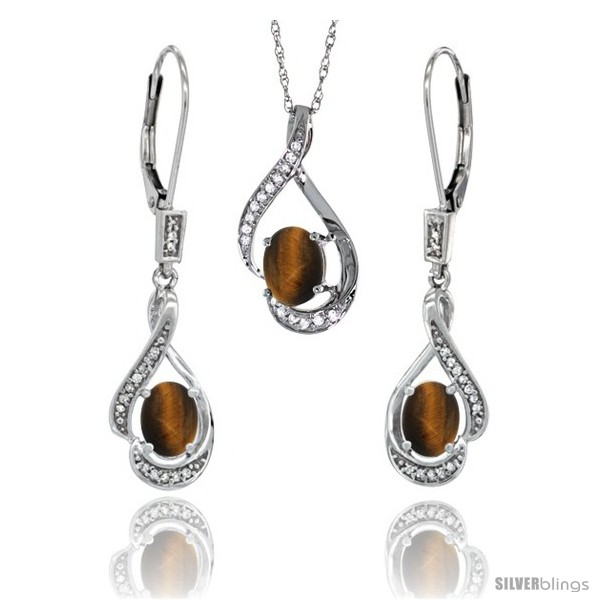 https://www.silverblings.com/77216-thickbox_default/14k-white-gold-natural-tiger-eye-lever-back-earrings-pendant-set-diamond-accent.jpg
