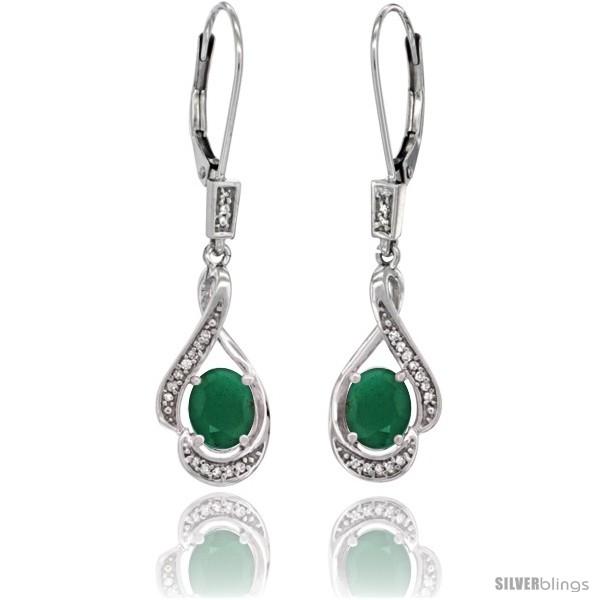 https://www.silverblings.com/77272-thickbox_default/14k-white-gold-natural-emerald-lever-back-earrings-1-7-16-in-long.jpg