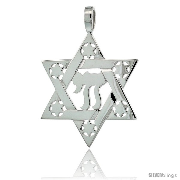 https://www.silverblings.com/77305-thickbox_default/sterling-silver-chai-star-of-david-1-1-4-in-31-mm-tall.jpg