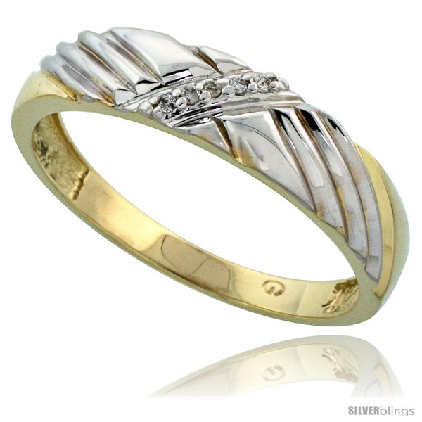 https://www.silverblings.com/77427-thickbox_default/gold-plated-sterling-silver-mens-diamond-wedding-band-3-16-in-wide-style-agy118mb.jpg