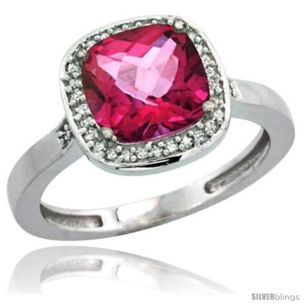 https://www.silverblings.com/77454-thickbox_default/10k-white-gold-diamond-pink-topaz-ring-2-08-ct-checkerboard-cushion-8mm-stone-1-2-08-in-wide.jpg
