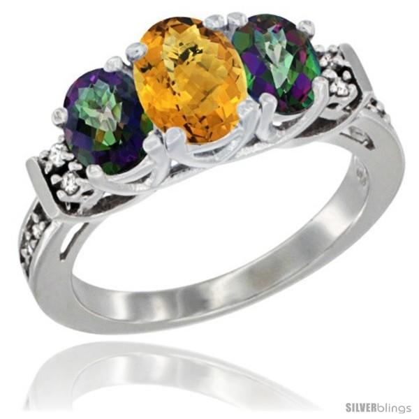 https://www.silverblings.com/77480-thickbox_default/14k-white-gold-natural-whisky-quartz-mystic-topaz-ring-3-stone-oval-diamond-accent.jpg