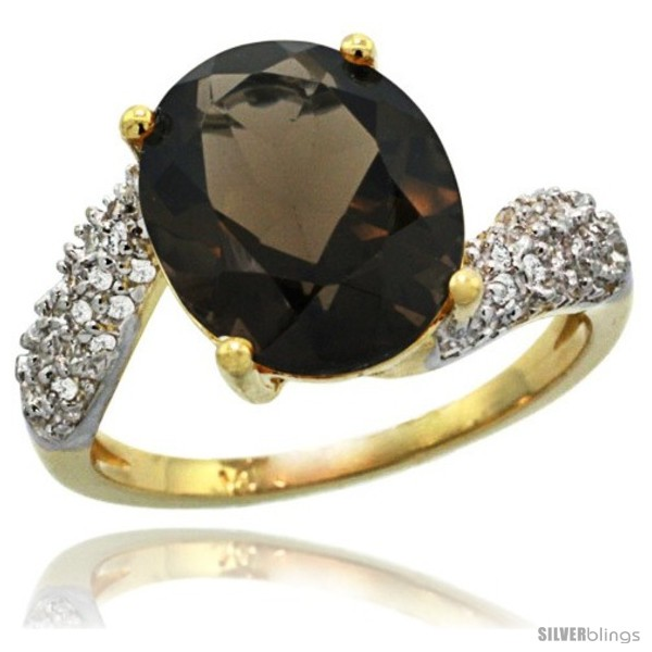 https://www.silverblings.com/77540-thickbox_default/14k-gold-natural-smoky-topaz-ring-12x10-mm-oval-shape-diamond-halo-1-2inch-wide.jpg