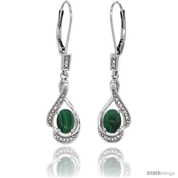 https://www.silverblings.com/77590-thickbox_default/14k-white-gold-natural-malachite-lever-back-earrings-1-7-16-in-long.jpg