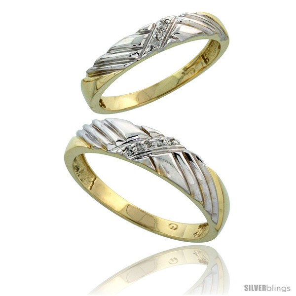 https://www.silverblings.com/77681-thickbox_default/gold-plated-sterling-silver-diamond-2-piece-wedding-ring-set-his-5mm-hers-3-5mm-style-agy118w2.jpg