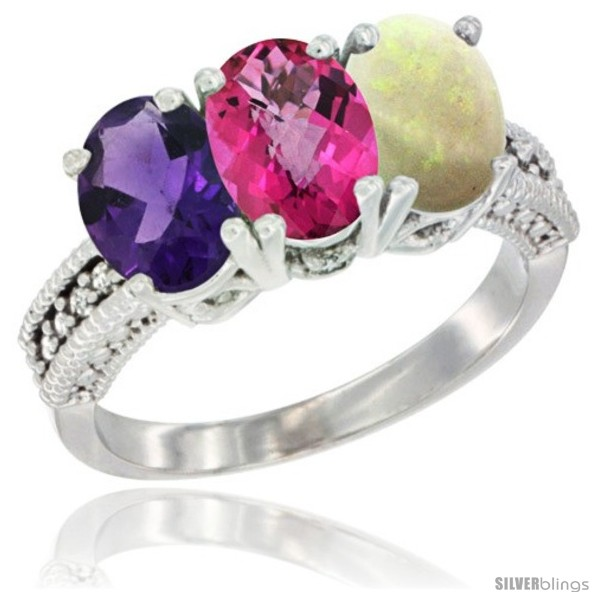 https://www.silverblings.com/77838-thickbox_default/14k-white-gold-natural-amethyst-pink-topaz-opal-ring-3-stone-7x5-mm-oval-diamond-accent.jpg