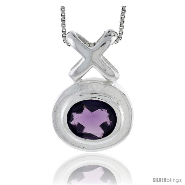 https://www.silverblings.com/77890-thickbox_default/high-polished-sterling-silver-1-1-16-28-mm-tall-hugs-kisses-pendant-w-oval-cut-11x9mm-amethyst-colored-cz-stone-w-18.jpg