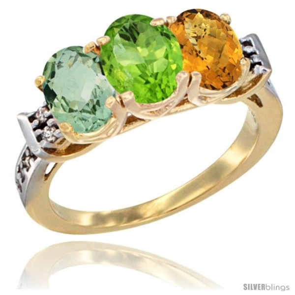 https://www.silverblings.com/779-thickbox_default/10k-yellow-gold-natural-green-amethyst-peridot-whisky-quartz-ring-3-stone-oval-7x5-mm-diamond-accent.jpg