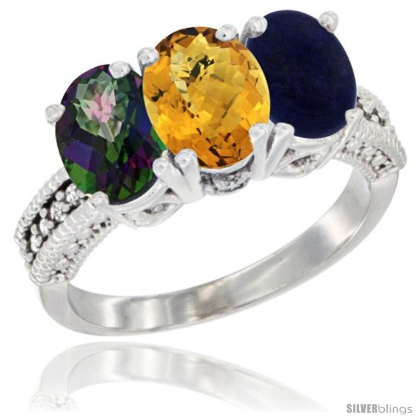 https://www.silverblings.com/77922-thickbox_default/14k-white-gold-natural-mystic-topaz-whisky-quartz-lapis-ring-3-stone-7x5-mm-oval-diamond-accent.jpg