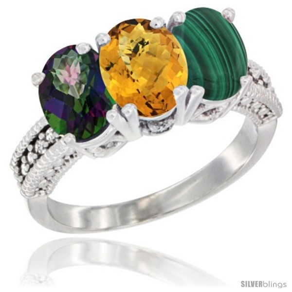 https://www.silverblings.com/77924-thickbox_default/14k-white-gold-natural-mystic-topaz-whisky-quartz-malachite-ring-3-stone-7x5-mm-oval-diamond-accent.jpg