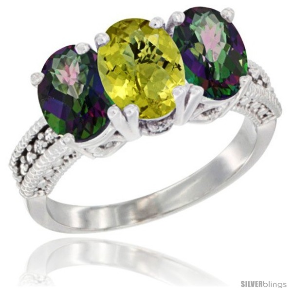https://www.silverblings.com/77952-thickbox_default/14k-white-gold-natural-lemon-quartz-mystic-topaz-sides-ring-3-stone-7x5-mm-oval-diamond-accent.jpg