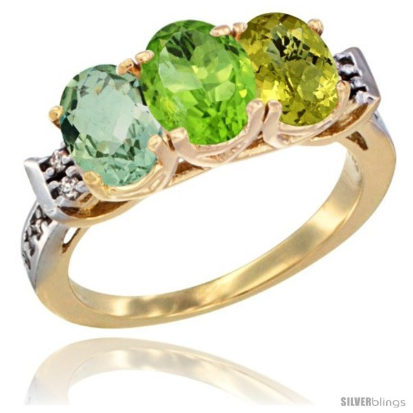 https://www.silverblings.com/781-thickbox_default/10k-yellow-gold-natural-green-amethyst-peridot-lemon-quartz-ring-3-stone-oval-7x5-mm-diamond-accent.jpg