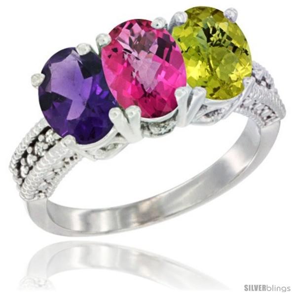 https://www.silverblings.com/78104-thickbox_default/14k-white-gold-natural-amethyst-pink-topaz-lemon-quartz-ring-3-stone-7x5-mm-oval-diamond-accent.jpg