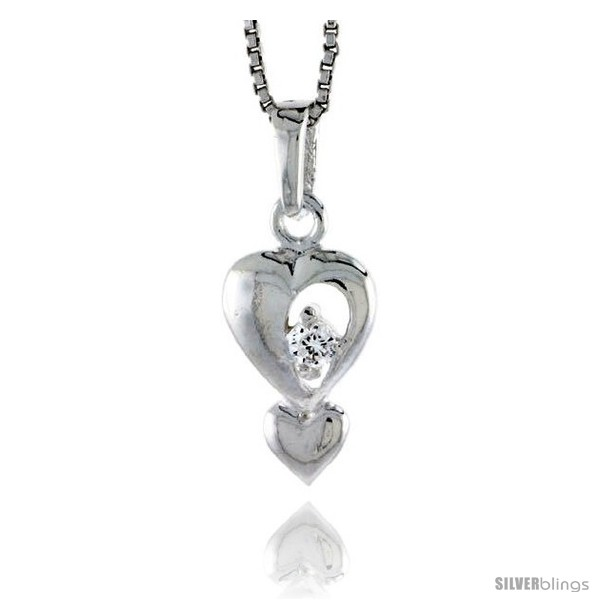 https://www.silverblings.com/78214-thickbox_default/high-polished-sterling-silver-5-8-16-mm-tall-double-heart-pendant-w-2mm-brilliant-cut-cz-stone-w-18-thin-box-chain.jpg