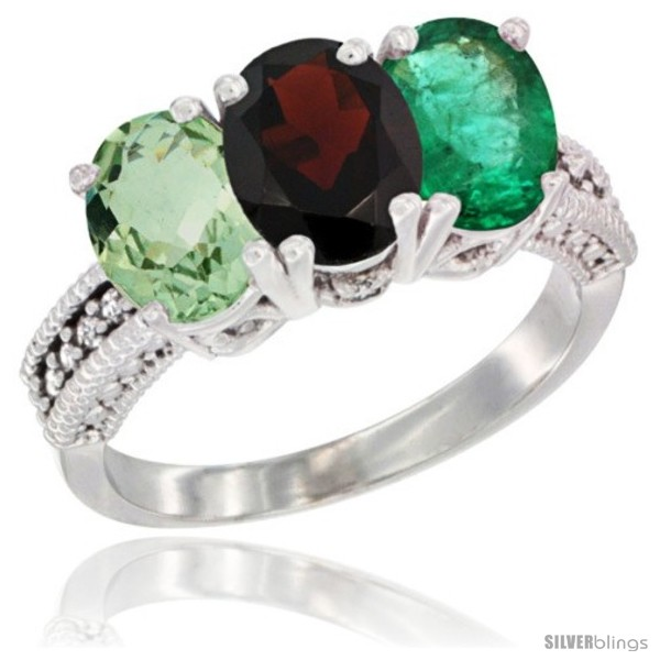 https://www.silverblings.com/7831-thickbox_default/14k-white-gold-natural-green-amethyst-garnet-emerald-ring-3-stone-7x5-mm-oval-diamond-accent.jpg