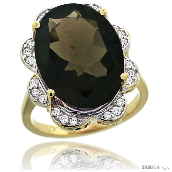 https://www.silverblings.com/78412-thickbox_default/14k-gold-natural-smoky-topaz-ring-18x13-mm-oval-shape-diamond-halo-3-4inch-wide.jpg