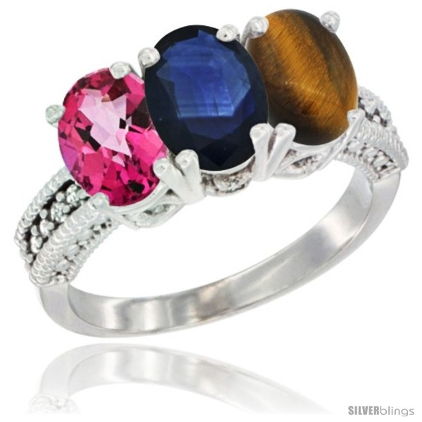 https://www.silverblings.com/78432-thickbox_default/10k-white-gold-natural-pink-topaz-blue-sapphire-tiger-eye-ring-3-stone-oval-7x5-mm-diamond-accent.jpg
